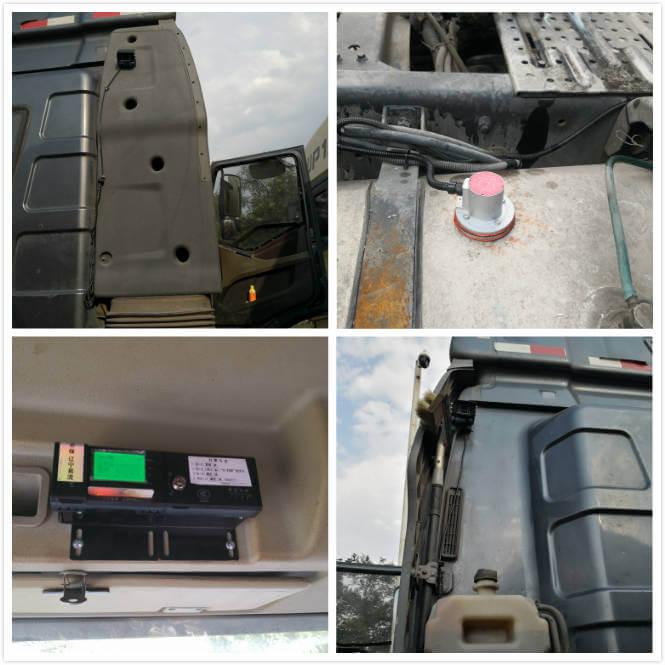 安装车队监测油感设备(油耗监测/油量/防丢油)